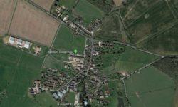 Aerial view of Westbury