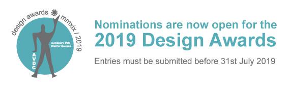 AVDC design awards logo 2019