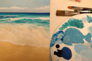 Beginners' Acrylics - short course @ Queens Park Arts Centre