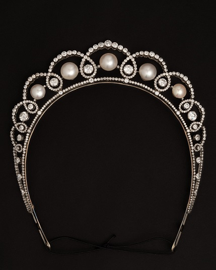 Boucheron Tiara from 1913, soon to be on view at Waddesdon