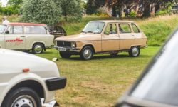 70s Renault at the Festival of the Unexceptional at Claydon House