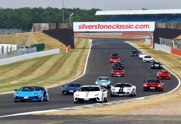 Supercar Showcase at the Classic 2 Silverstone