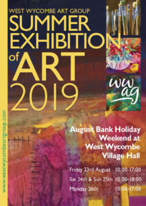 West Wycombe Art Group Summer Exhibition 2019 @ West Wycombe Village Hall
