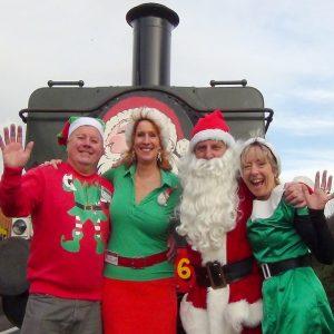 Santa Steam Trains ex Chinnor @ Chinnor & Princes Risborough Railway