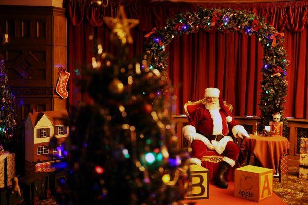 Vintage 1940s Christmas Grotto - Image by Jakob Ebrey, courtesy of Bletchley Park Trust