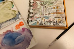 Adult Art Short-courses: Beginners' Watercolour @ Queens Park Arts Centre