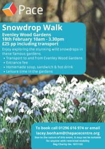 Pace Snowdrop Walk @ Evenley Wood Gardens