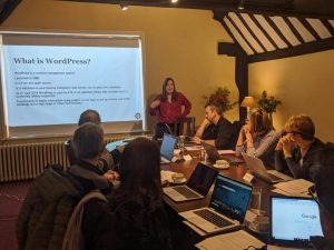 Build a website in one day with WordPress @ Gatehouse Chamber, King's Head Passage