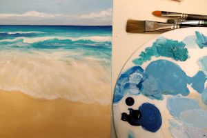 Beginners Acrylics - Part 1:  28 Feb, 6, 13 March @ Queens Park Arts Centre