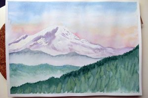 Beginners Watercolours - Part 1: 26 Feb, 4, 11, Mar @ Queens Park Arts Centre